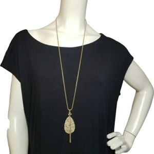 Torrid Gold-Tone Necklace NWT Long Length …